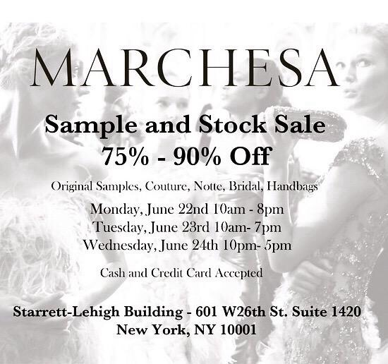 June Sample Sales