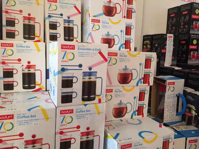 Hot Off The French Presses! Bodum Sample Sale