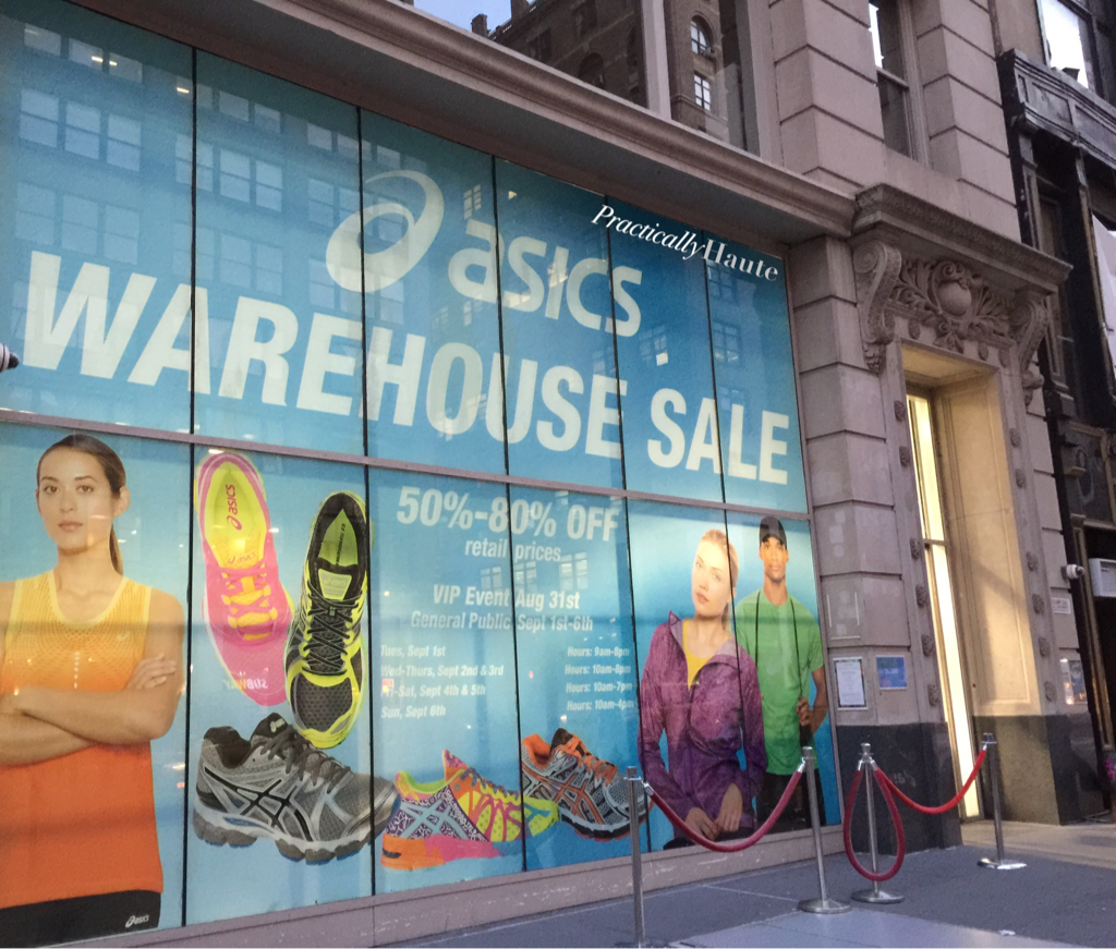 Get Your Workout Gear at ASICS Sample Sale.