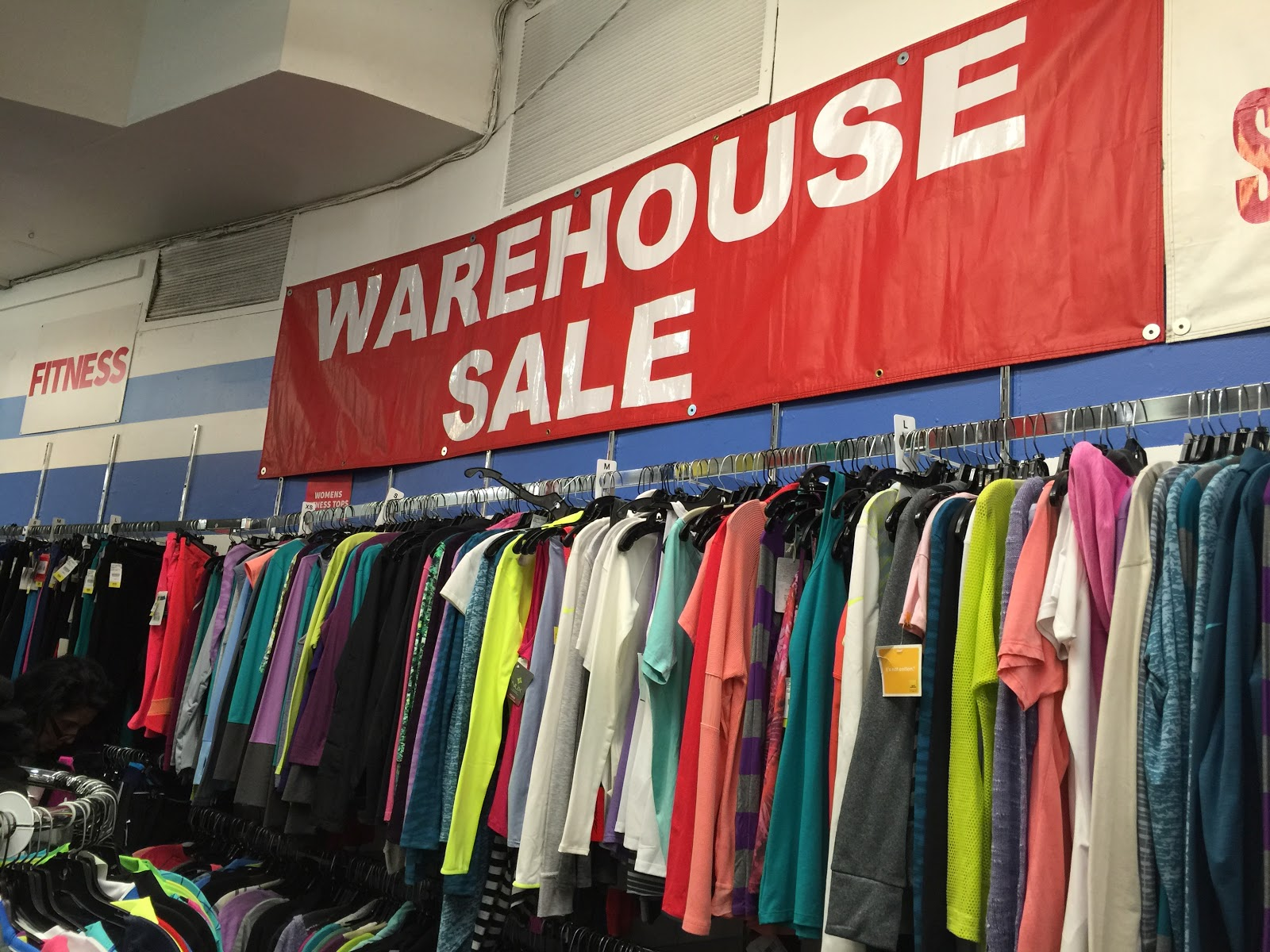 Final Day of Paragon Warehouse Sale.