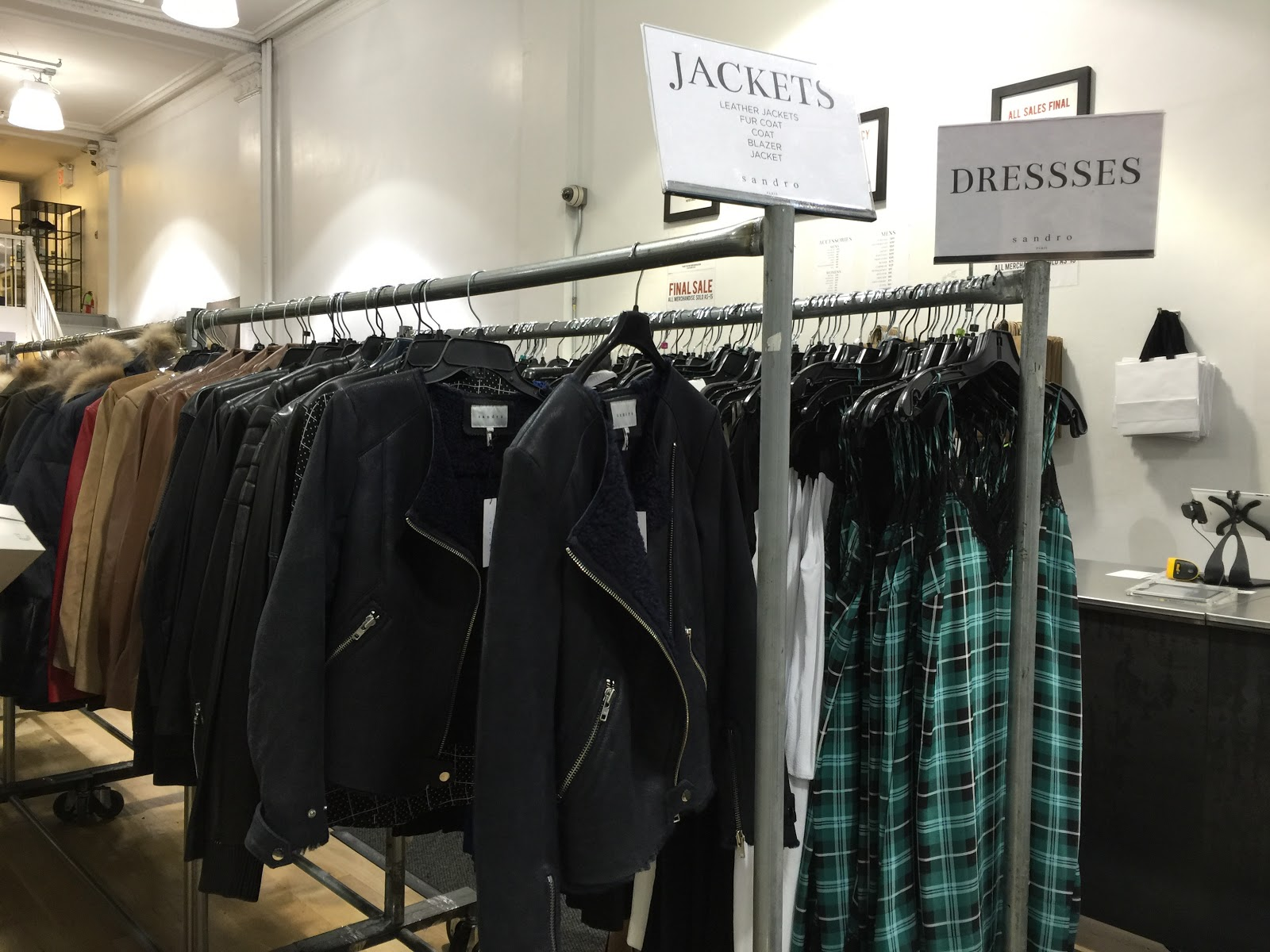 Shopping The Fall Sandro Sample Sale