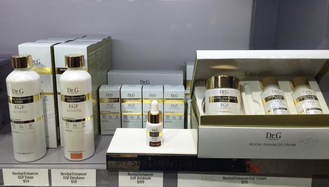 Dr. G premium EGF skincare