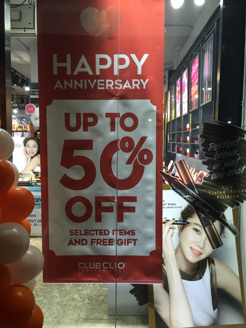 Club Clio anniversary sale