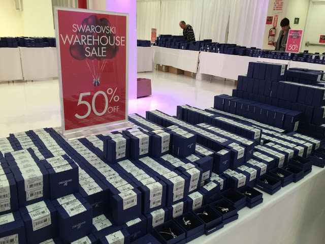 Final Day Of Swarovski Warehouse Sale
