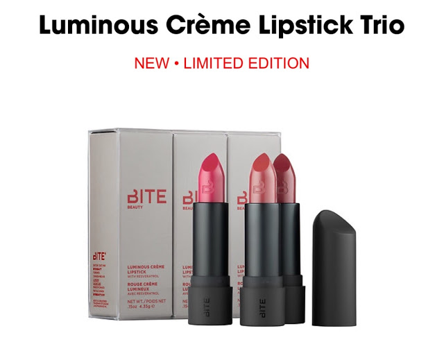 Beauty Deal – Bite Beauty Lipstick Trio From Sephora