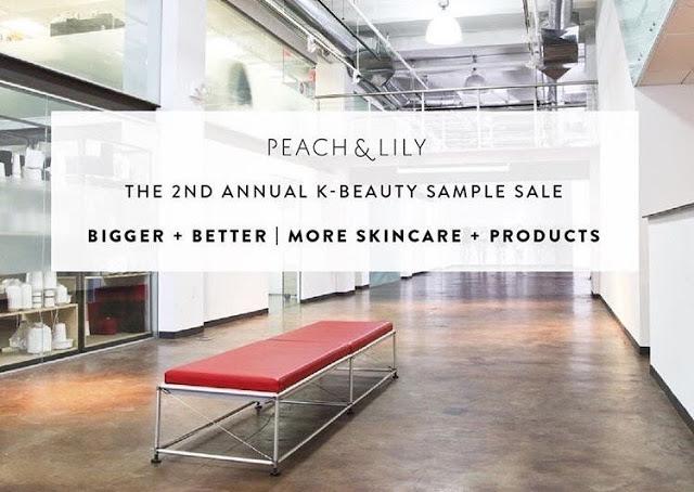 Peach & Lily Sample Sale Returns!