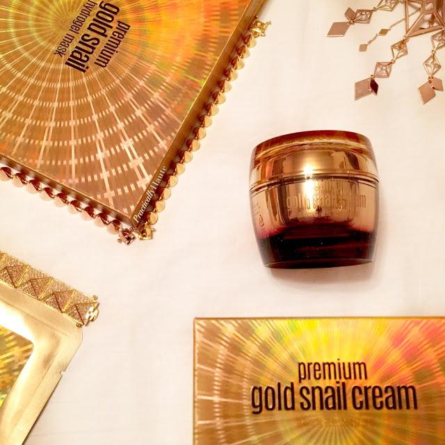 JKNLEE Club Clio Goodal gold snail sheet mask and cream k-beauty haul