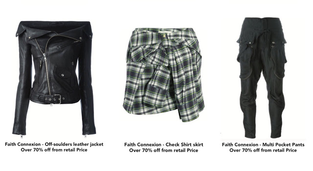 Faith Connexion sample sale
