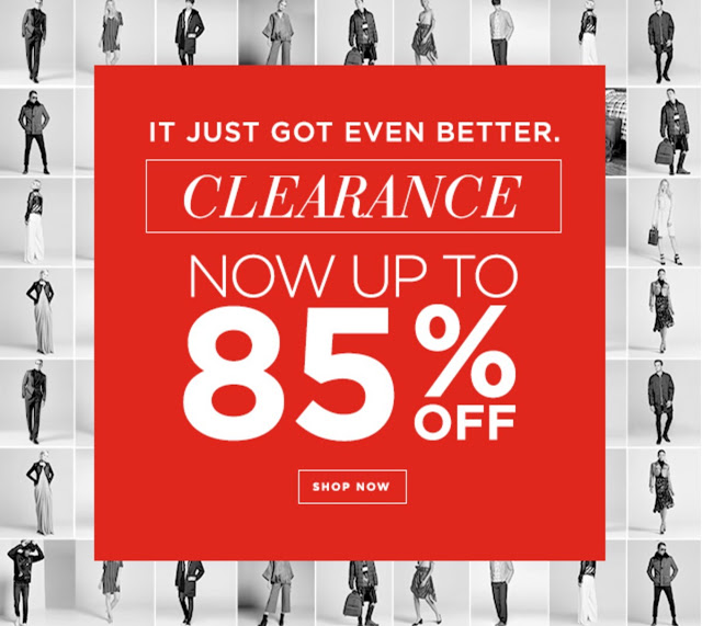 Century 21 Stores 2017 Winter Clearance