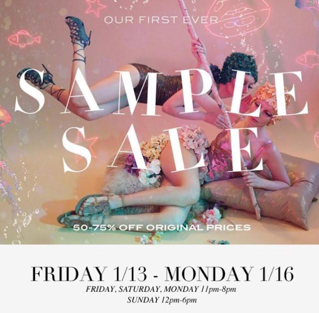 Ivy Kirzhner Sample Sale Starts Tomorrow
