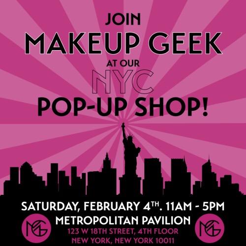 Makeup Geek Pop-Up This Saturday