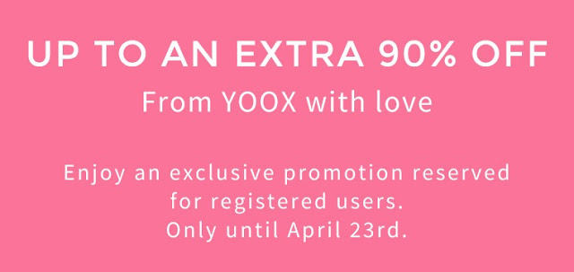 Online Deal – Yoox F&F Sale Up To 90% Off