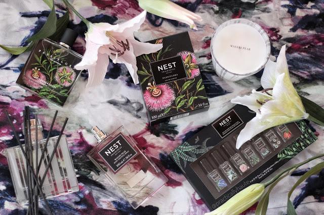 Nest Fragrances beauty flatlay Practically haute