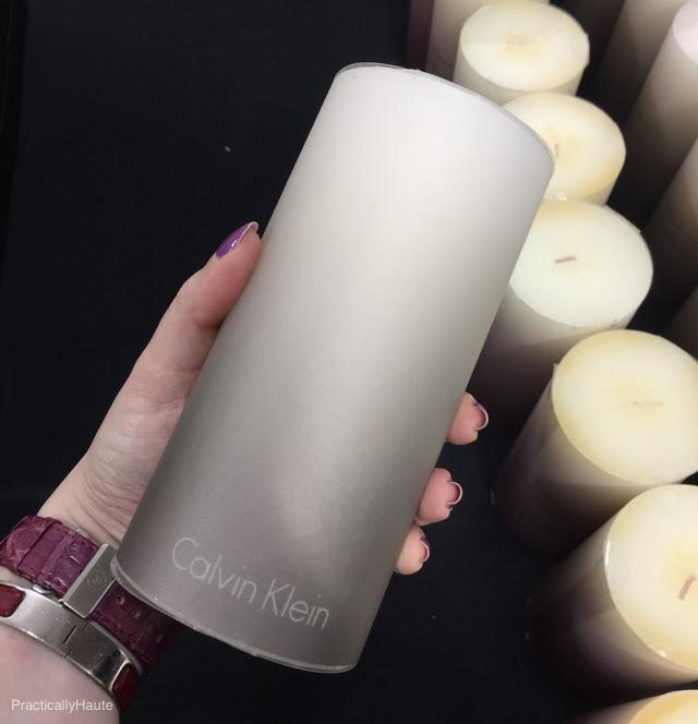 Calvin Klein pillar candle