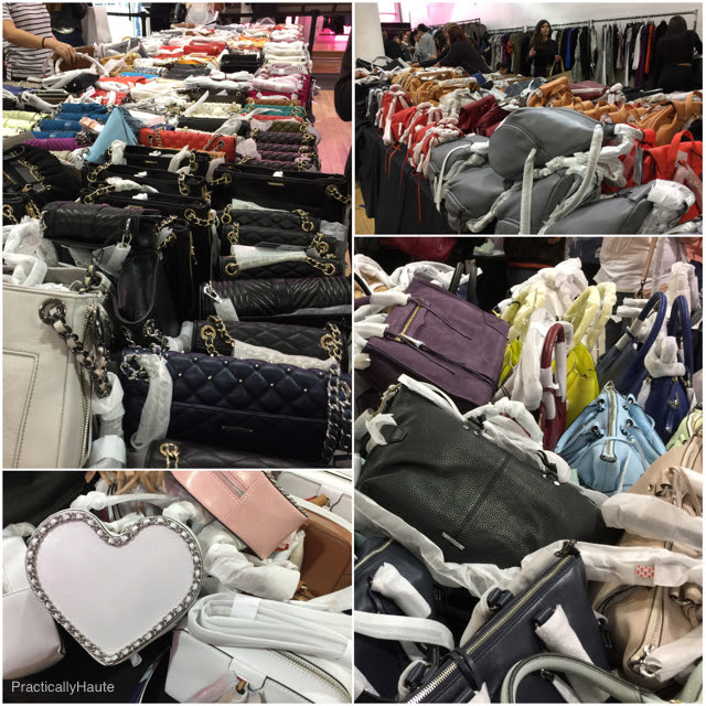sea of cheap bags