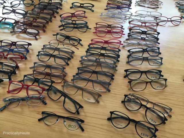 Eco optical eyeware frames
