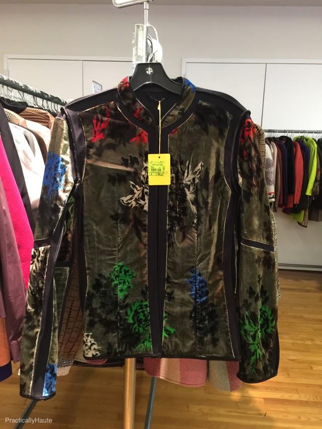 Etro sample sale print jacket blazer
