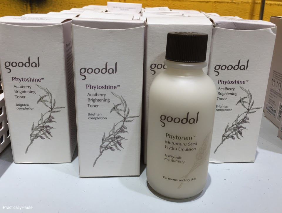 Club Clio sample sale Goodal Phyto skincare