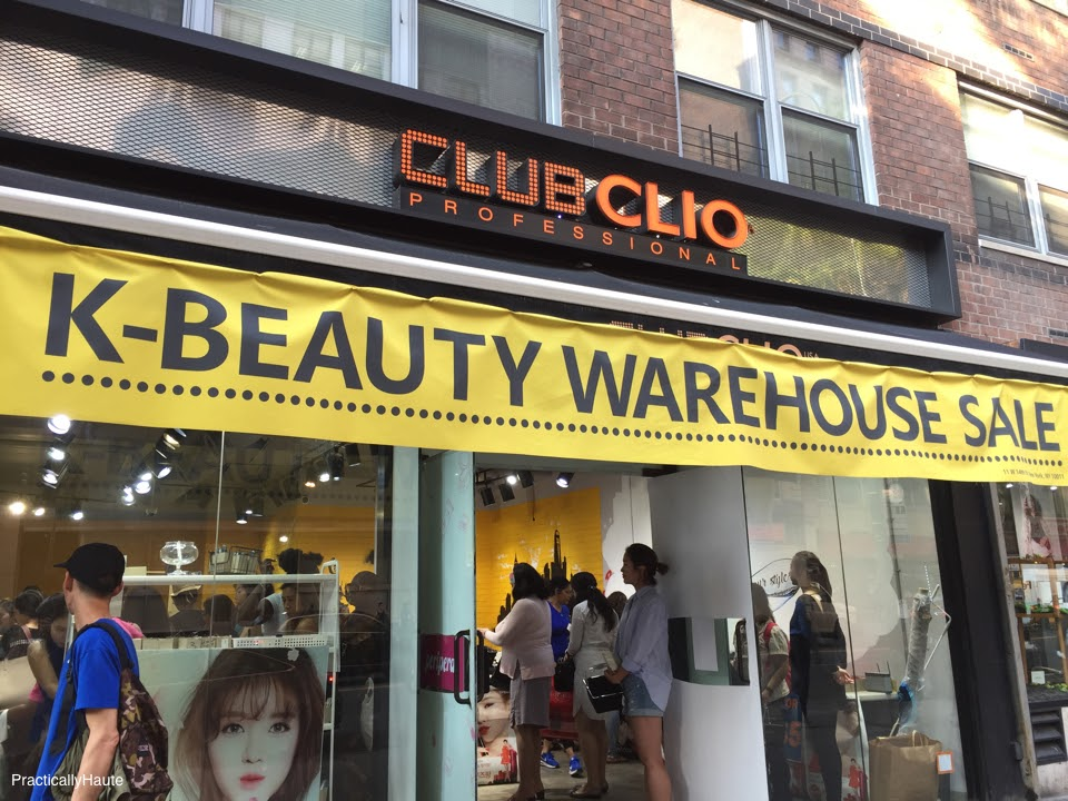 Club Clio 2017 warehouse sale