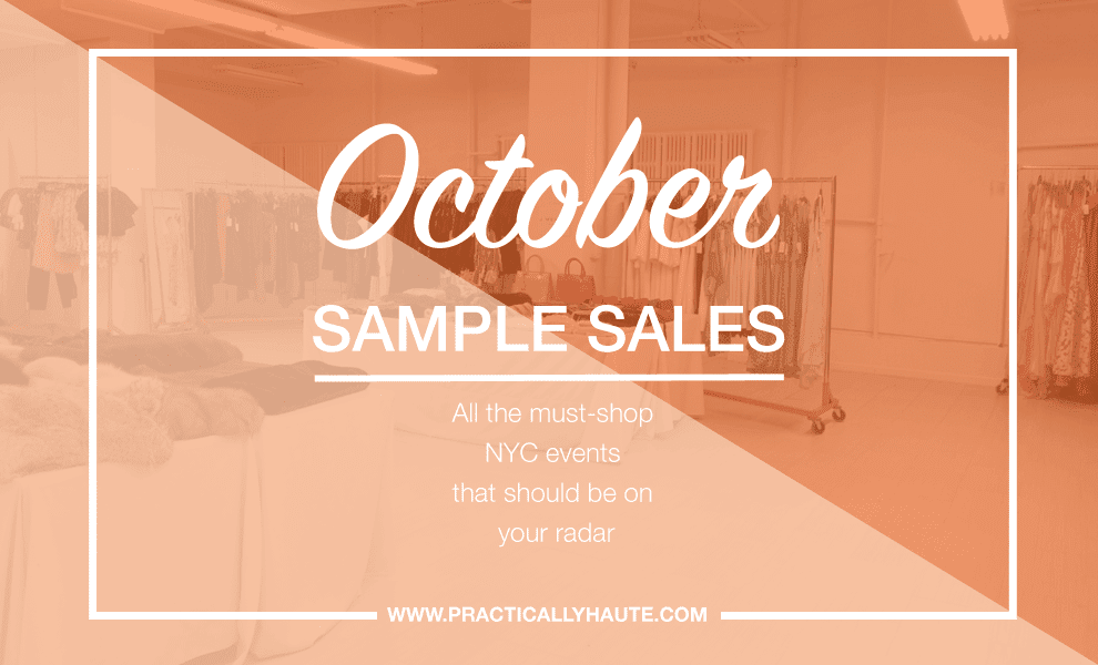October 2017 Sample Sales