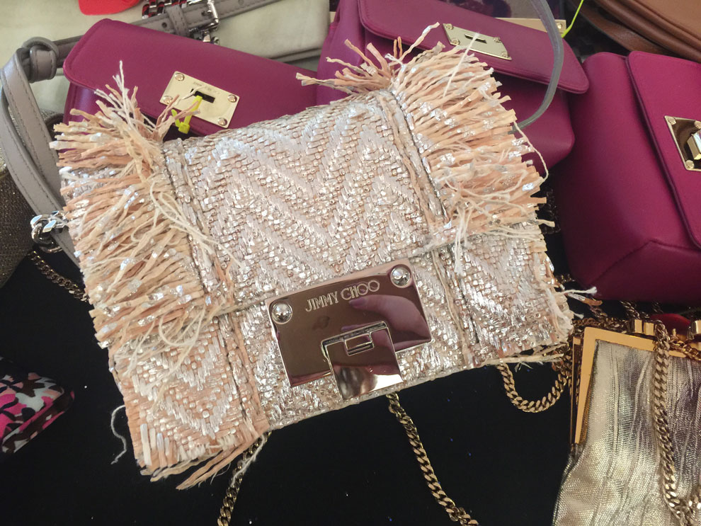 jimmy choo sample sale bags