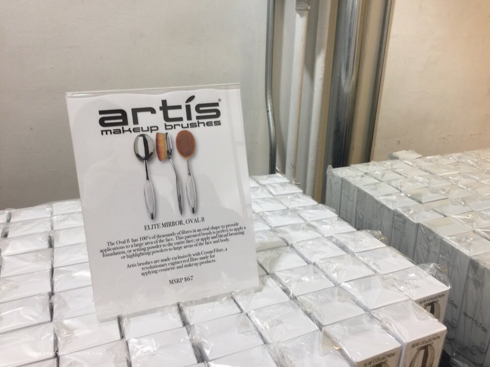 Artis sample sale elite mirror Oval 8