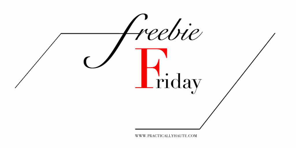 Friday Freebie graphic