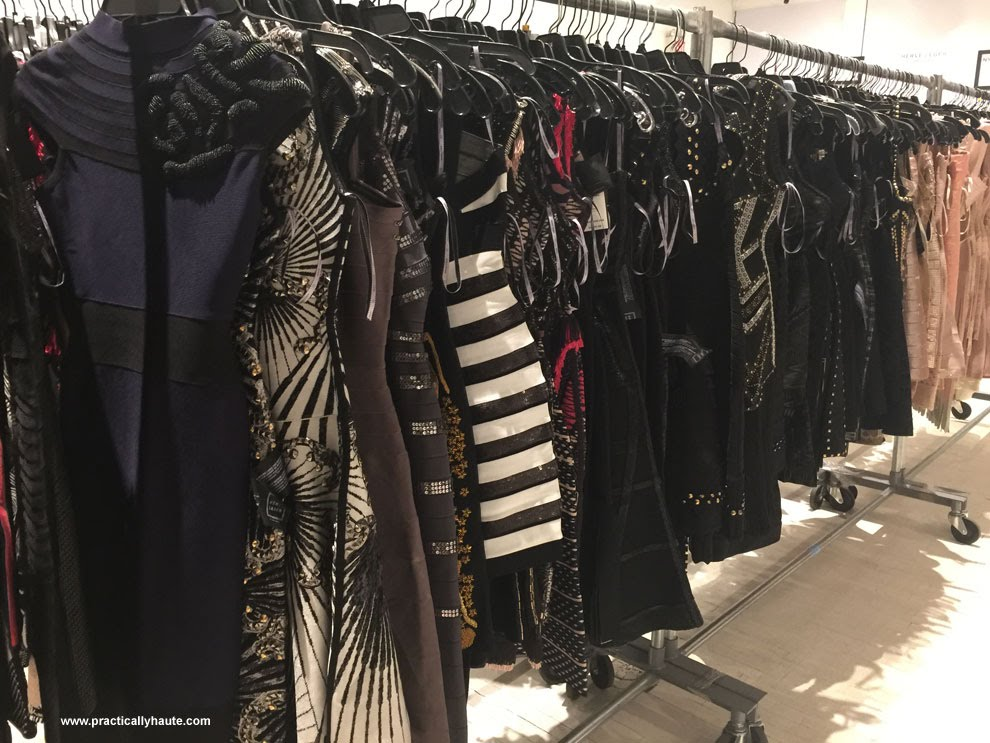 Herve Leger sample sale womens dresses
