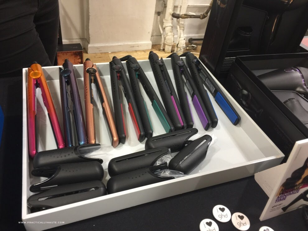ghd sample sale hair straighteners