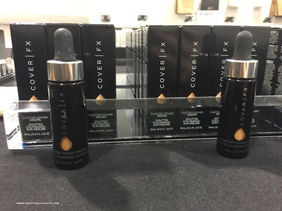 Cover FX sample sale enhancer drops