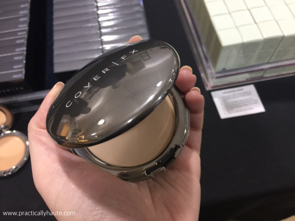 Cover FX sample sale pressed powder