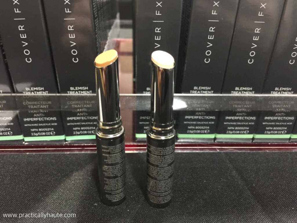 Cover FX sample sale spot concealer