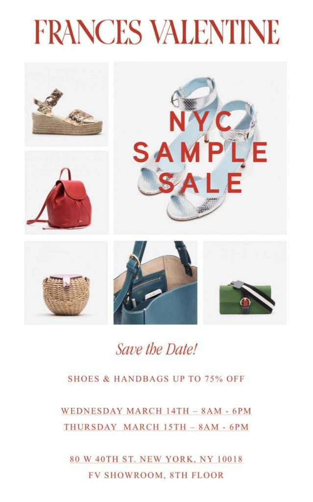 ca2c66df9041 Shop this multi-brand sample sale featuring true samples of women s apparel.