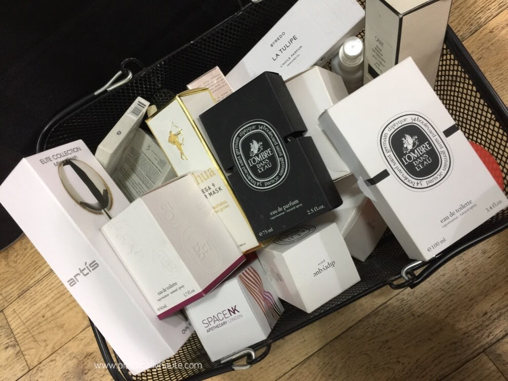 Space NK sample sale Diptyque