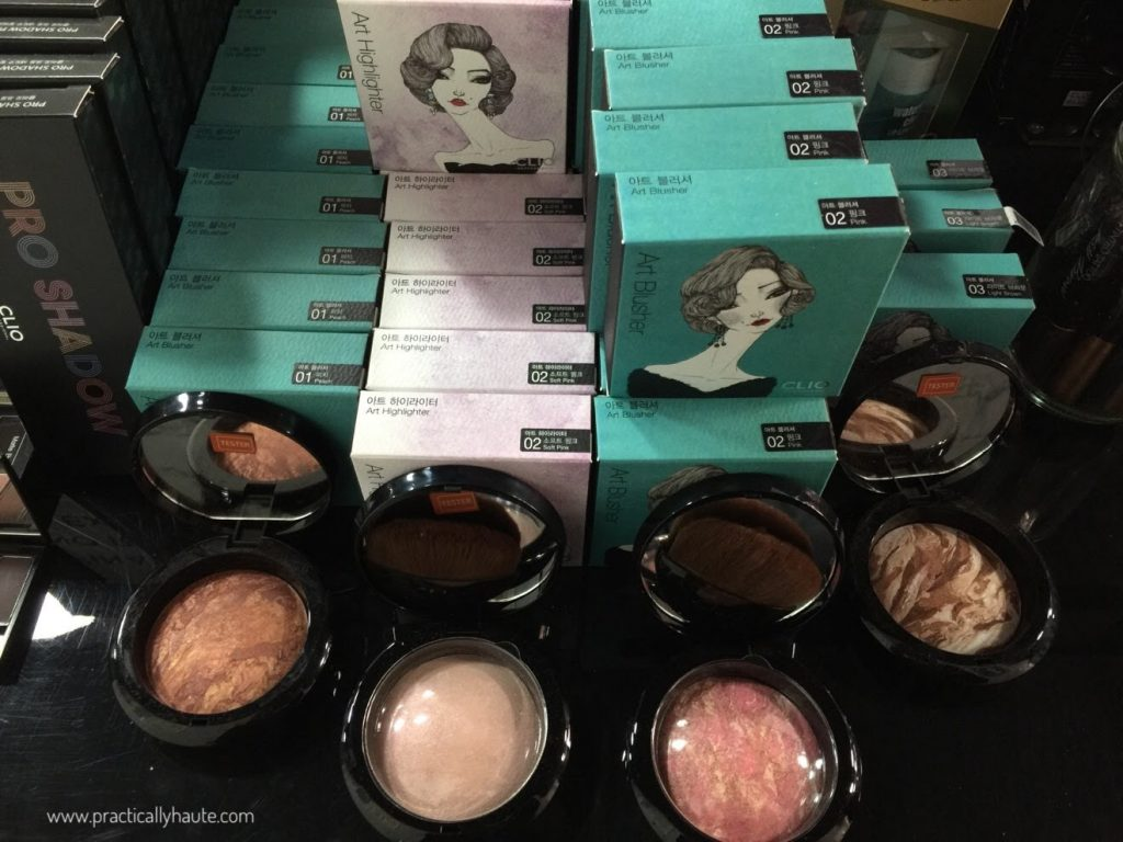 jknlee kbeauty sample sale clio art blush