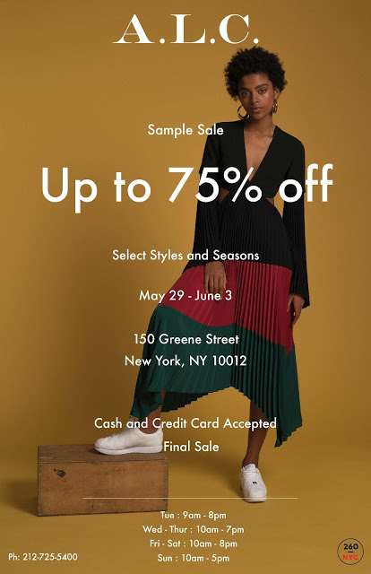 ALC sample sale