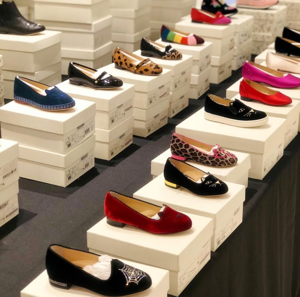 Charlotte Olympia sample sale kids shoes