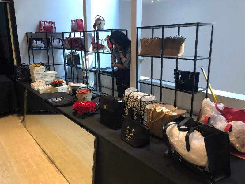 Charlotte Olympia sample sale large bags