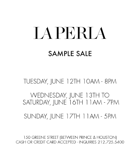 La Perla sample sale