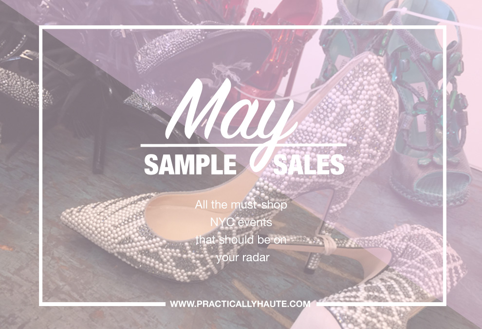 May 2018 Sample Sales