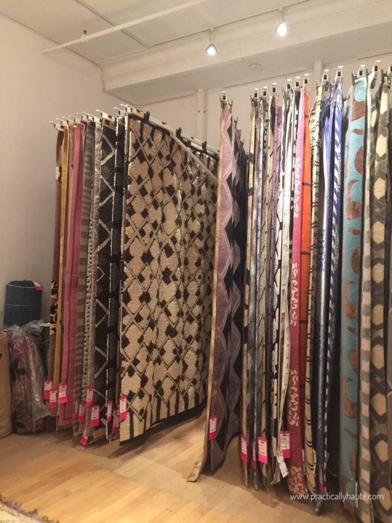 Madeline Weinrib sample sale carpets