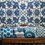 Madeline Weinrib ikat pillow sale