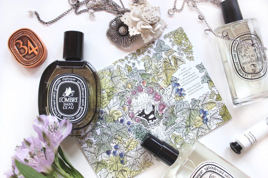 Diptyque beauty blogger L'ombre Dans L'eau sample sale perfume
