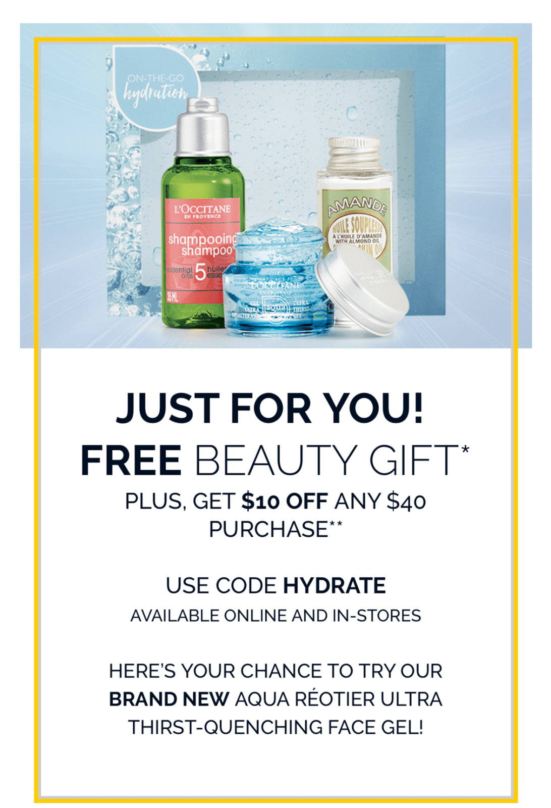 Freebie Friday – L'Occitane Summer Gift