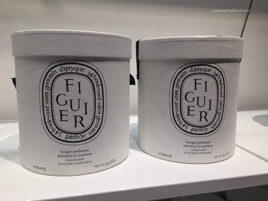 Diptyque sample sale Figuier outdoor candle