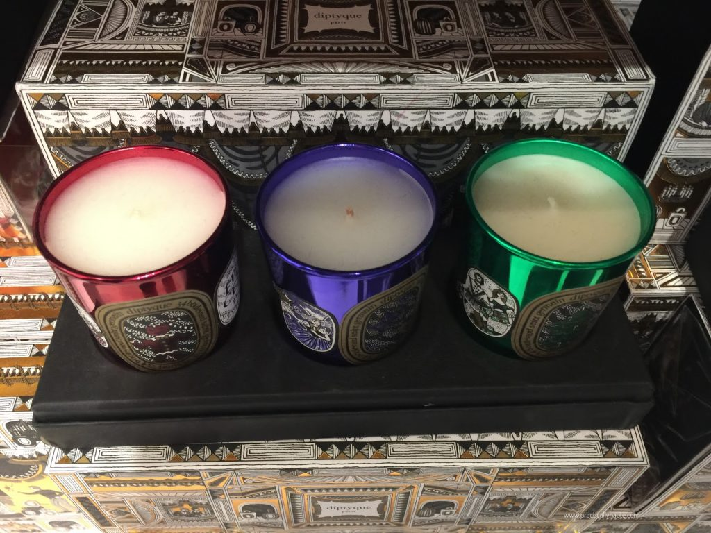 Diptyque sample sale holiday candle set