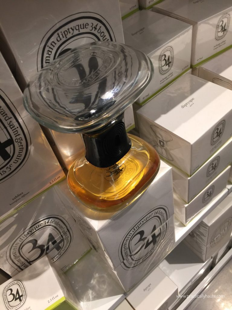 Diptyque sample sale home hourglass
