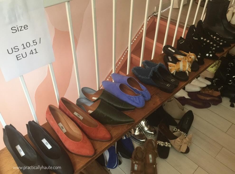 Miista shoes NYC sample sale