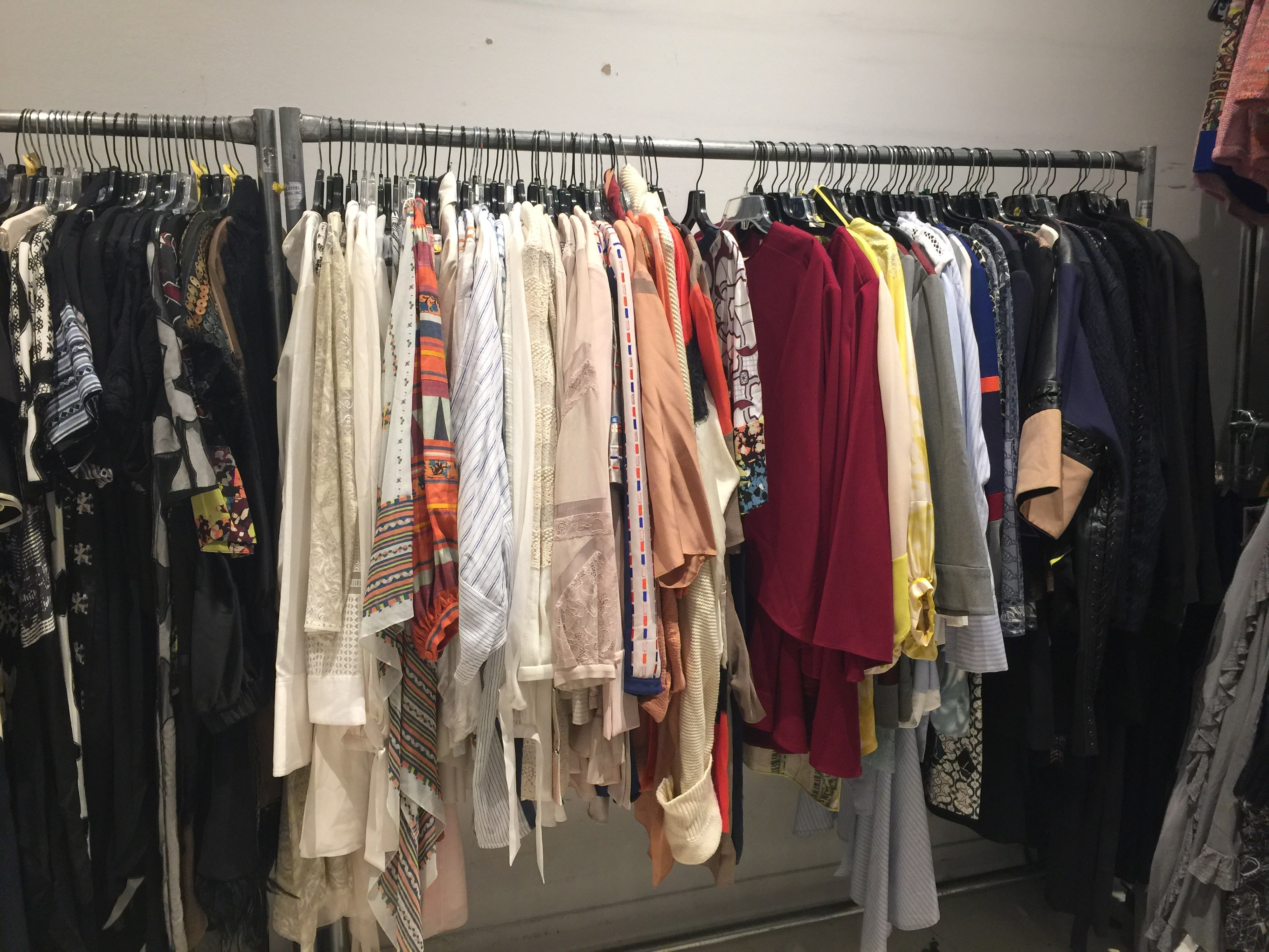 Herve Leger BCBG sample sale