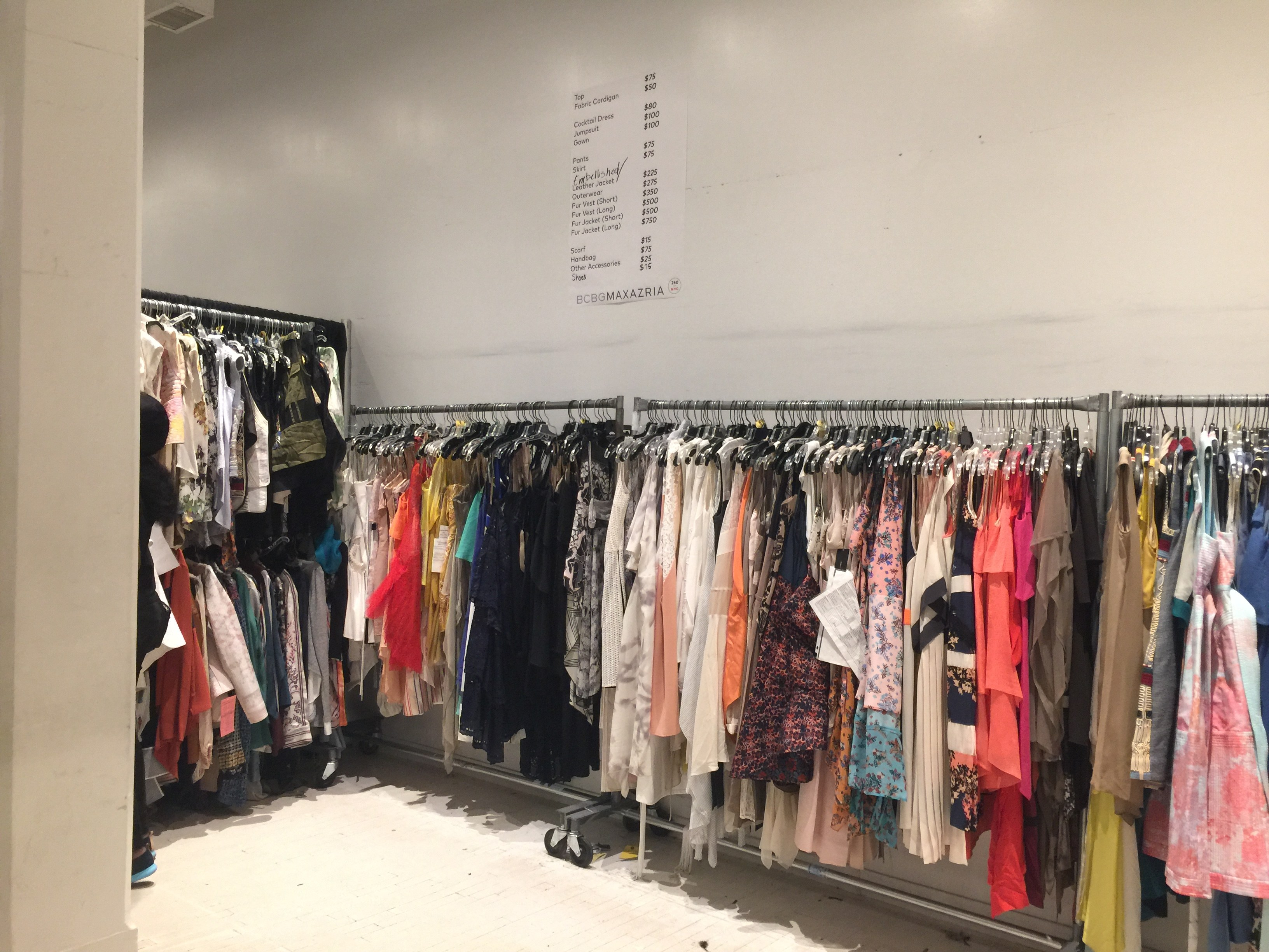 BCBG Max Azria sample sale